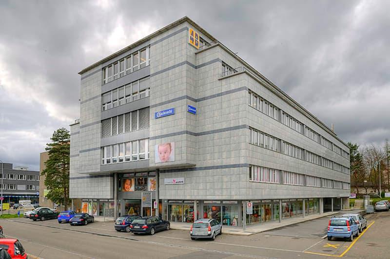 Ausstellungs- und Büroräume im 3. Obergeschoss