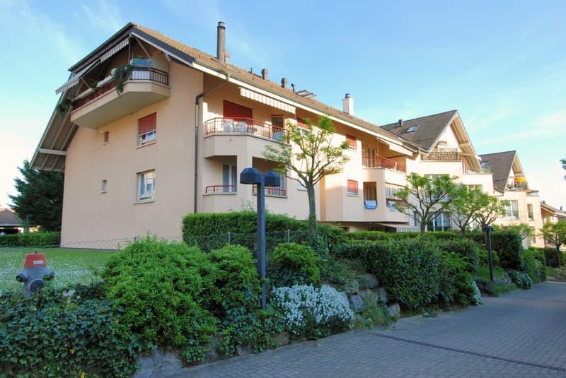 Appartement de 3.5 pièces avec deux balcons (quartier des Huttins)