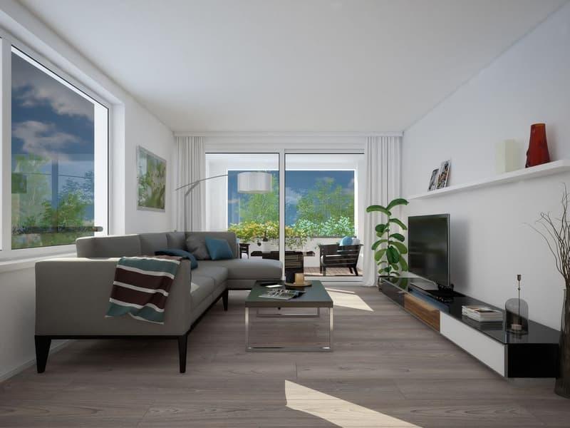 Letzte Neubaudachwohnungen an attraktiver, stadtnaher Lage (3)