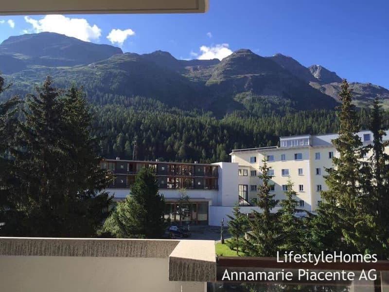 St. Moritz Aussicht