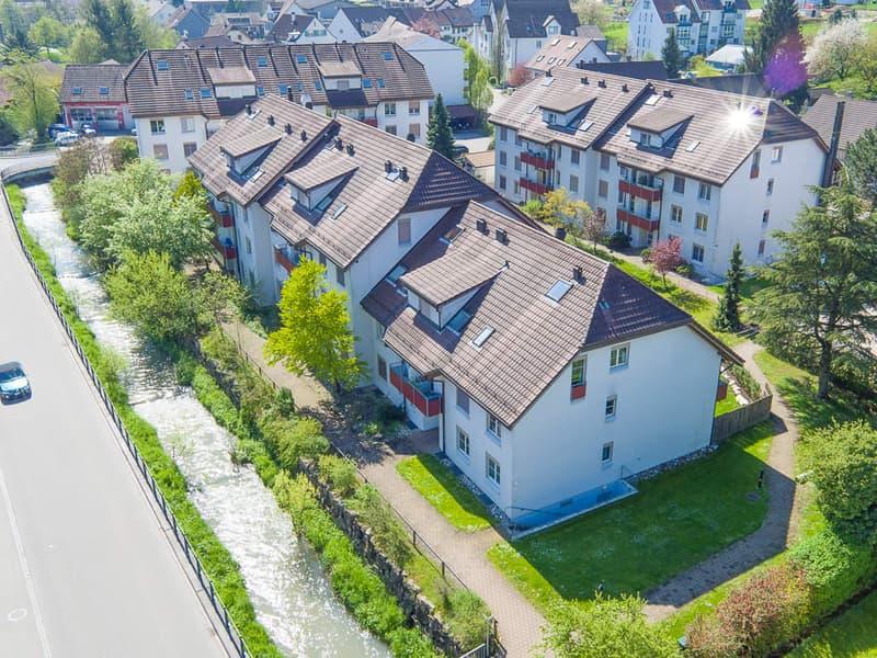 Helle Dachwohnung am Möhlinbach
