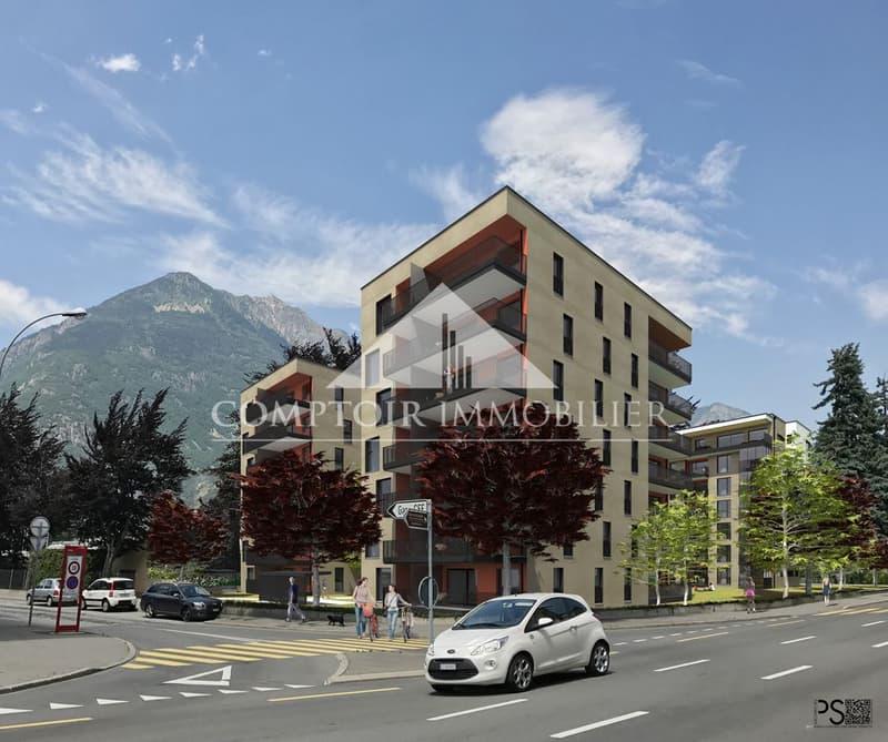 Appartement B53 neuf à 2 min à pied de la gare de Martigny, disponible de suite (1)