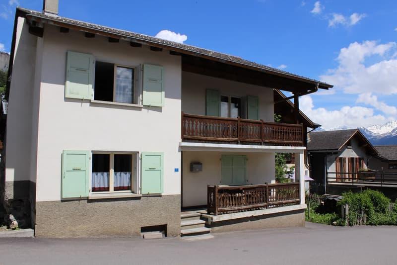 Maison à rénover - 6.5 pces - Levron (Vollèges) - EXCLUSIVITE