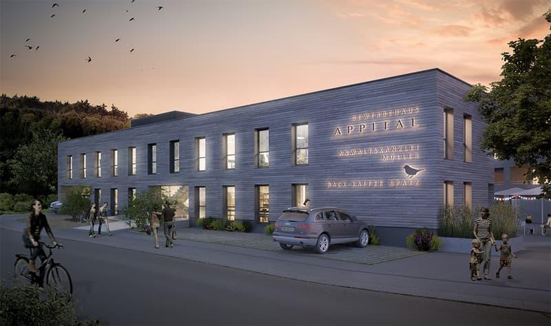 Repräsentativer Büro-/Gewerberaum 382 m² mit Seesicht, auch unterteilbar (Erstvermietung)