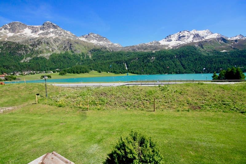 Appartamento con splendida vista lago e monti - Whg mit herrlichem Blick auf den See und die Berge