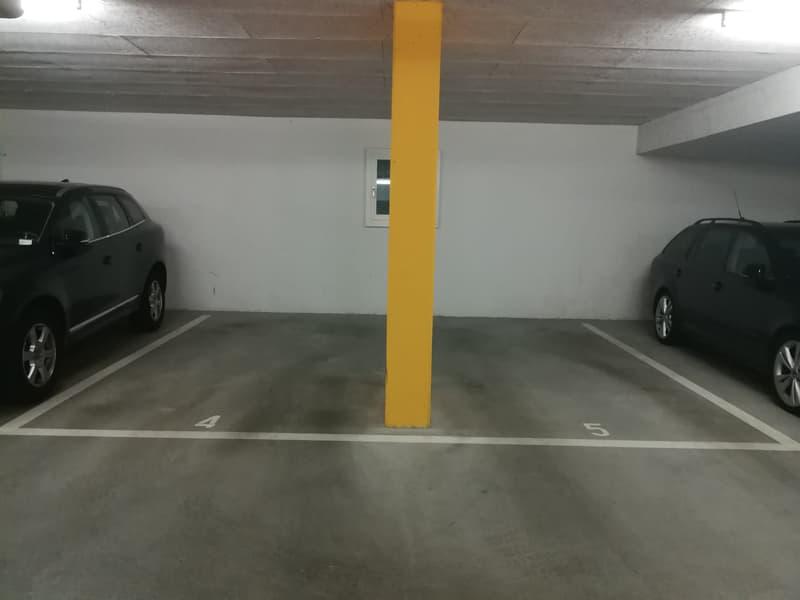 Tiefgaragenplätze zu vermieten