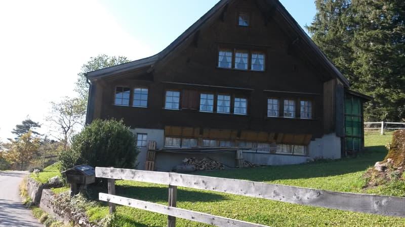 Gemütliches Appenzellerhaus fern von Lärm