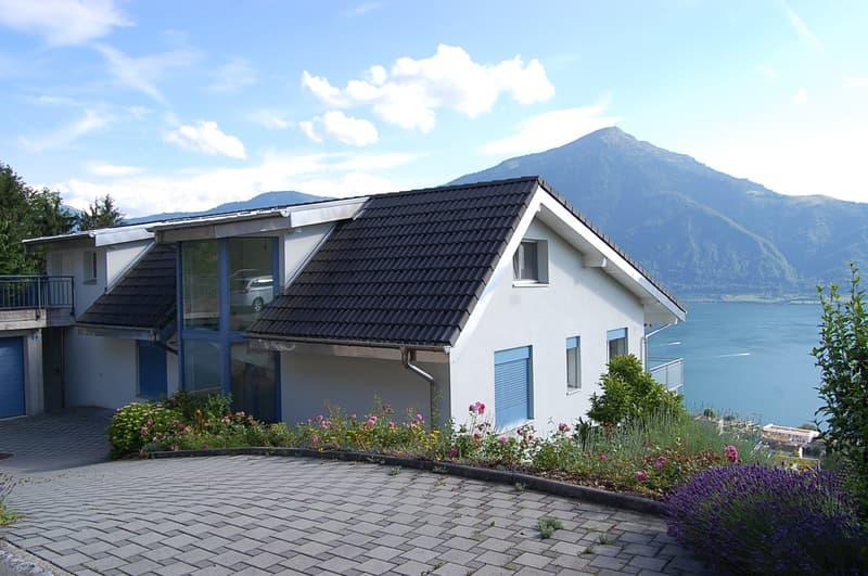 5,5 Z Wohnung an ruhiger Lage mit Blick auf Berg- und Seelandschaft