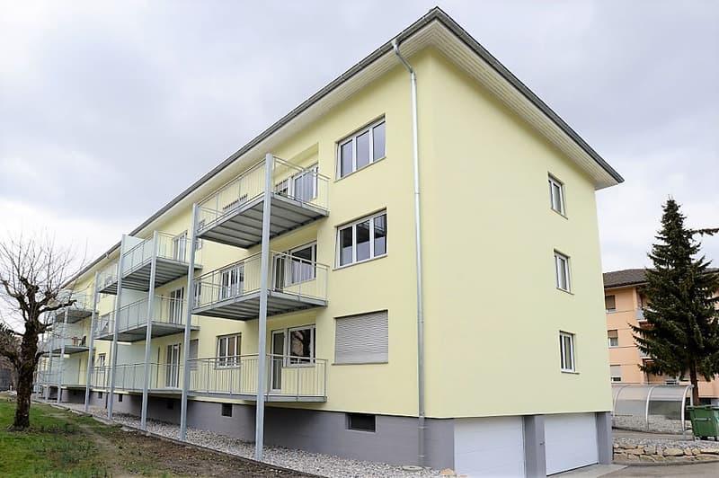 Exklusive 2.5-ZWG mit grossem Balkon im ruhigen Mühlefeldquartier