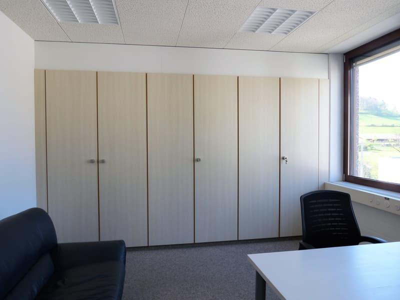 Diverse Büroräumlichkeiten ab 24 m2 an zentraler Lage in Rudolfstetten