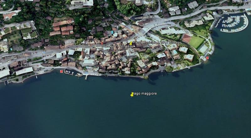 Brissago: Lage/Location/Posizione
