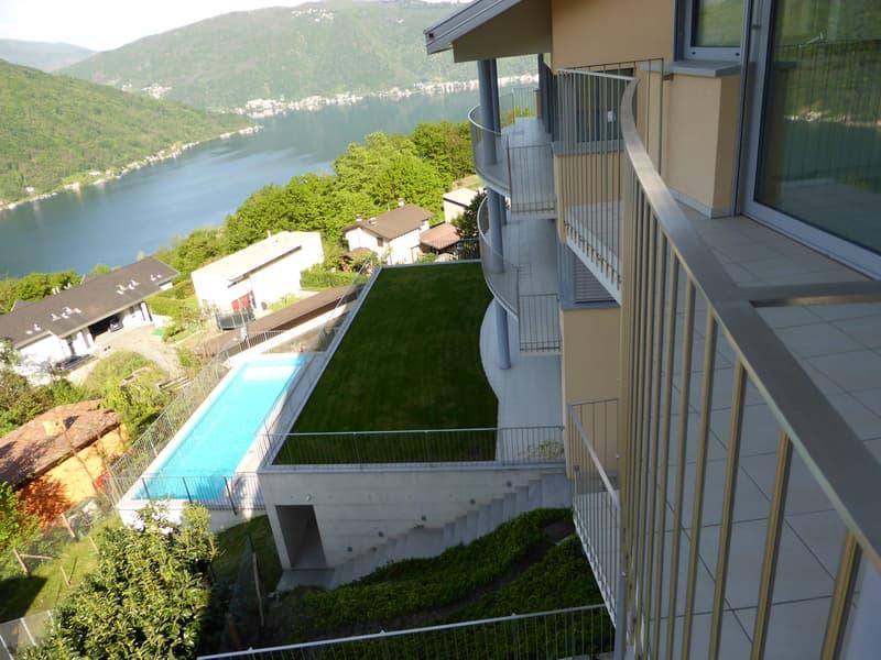 A Rovio affittiamo ampio e luminoso appartamento di 5.5 locali, duplex