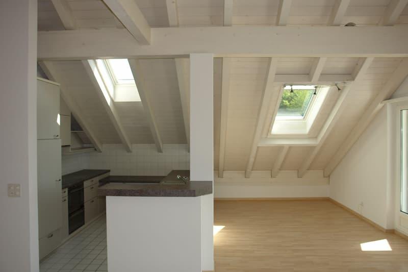 Herzlich Willkommen! Sonnige Dachwohnung mit Wohlfühlfaktor (4)