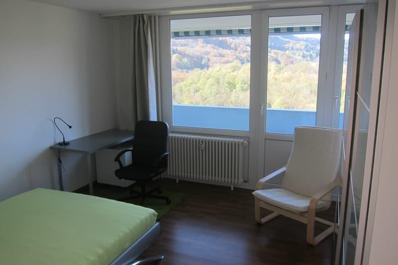 Einzelzimmer / Zimmer in WG - Furnished Single Room - 5 min zum Bahnhof Baden