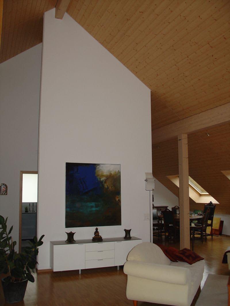 Luxuriöse 2.5-Zimmer-Dachwohnung