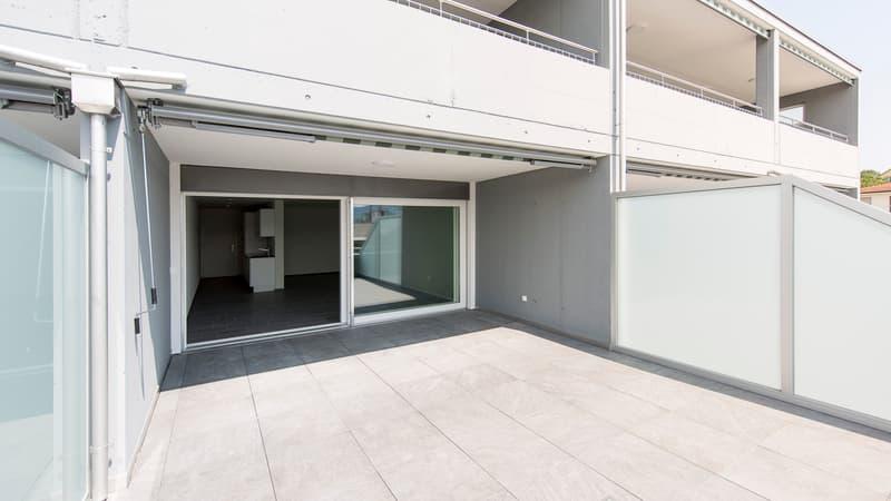 Top moderne 1.5-Zimmer-Wohnung mit grosszügigem Sitzplatz