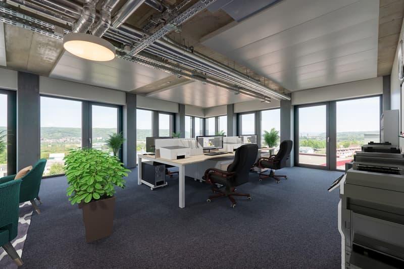 Ausgebaute Bürofläche für repräsentativen Firmensitz im Zentrum von Pratteln
