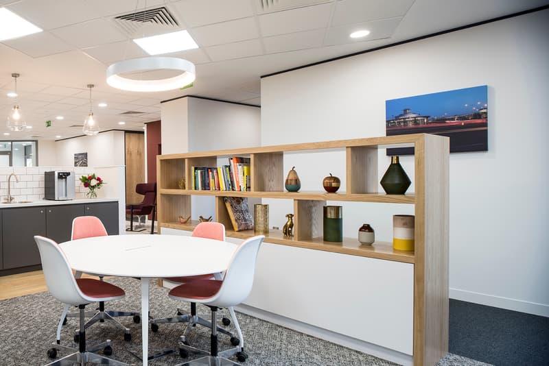 Arbeiten in der Business Lounge - Winterthur Archhöfe