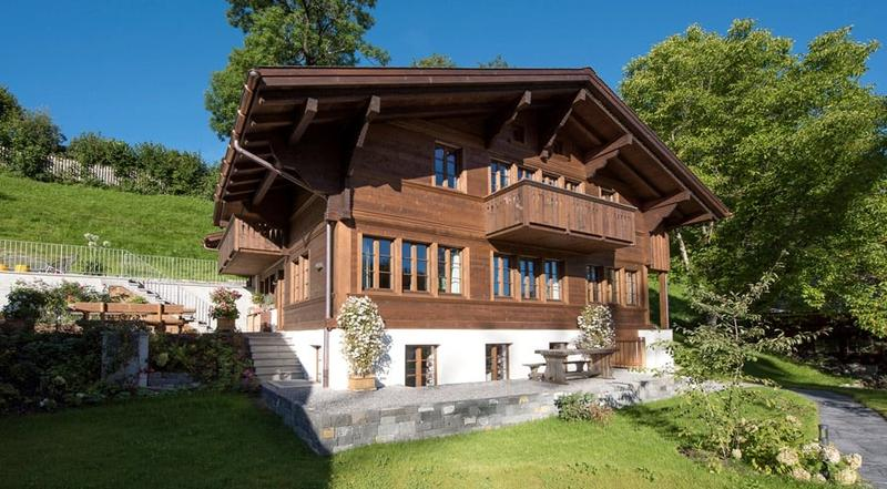 Marvellous wooden chalet in Gstaad