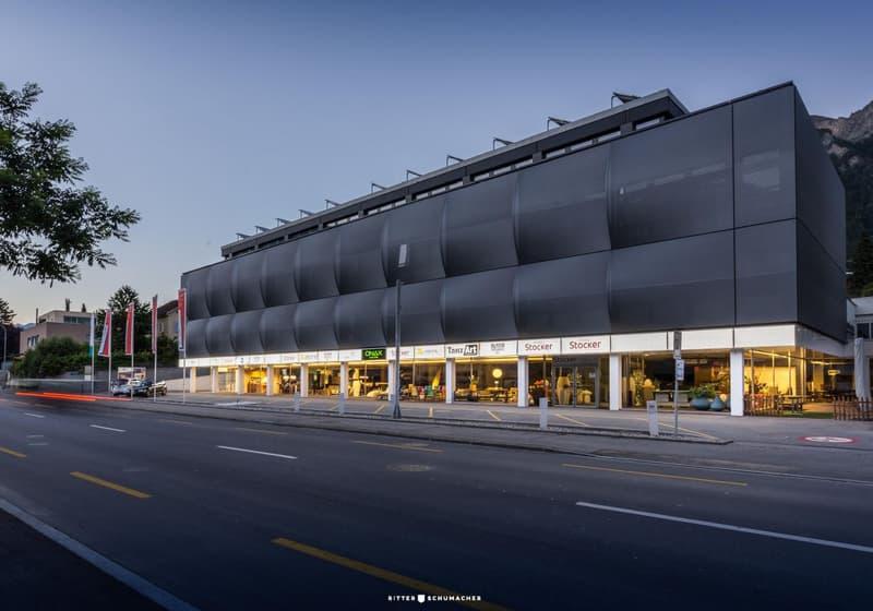 Attraktive Büro-, Gewerbeflächen mit überdachter LKW-Rampe im stockercenter zu vermieten