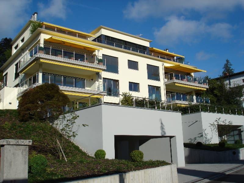 Exklusive Wohnung mit See- und Bergsicht