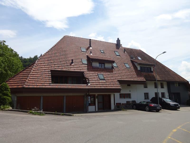 4.5-Zimmer-Maisonette-Wohnung in ehemaligem Bauernhaus