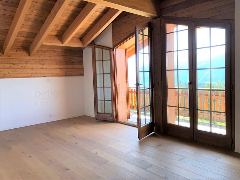 Magnifique 3.5 pièces en attique rénové - Anzère