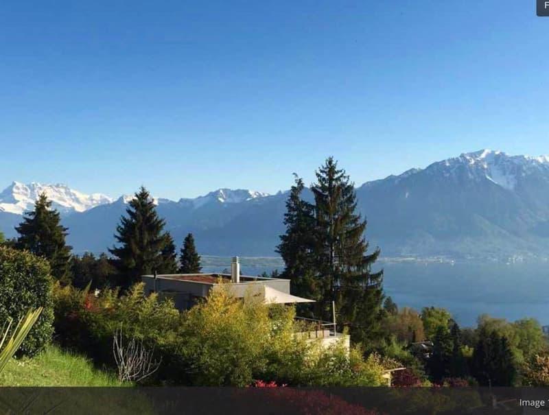 Magnifique villa meublée à Montreux avec vue sur le lac