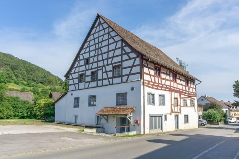 Grosses, traditionelles 12-Zimmer-Riegelhaus