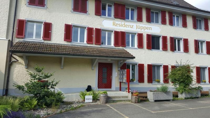 3½-Zimmerwohnung an ruhiger Lage mit Aussicht auf den Rhein