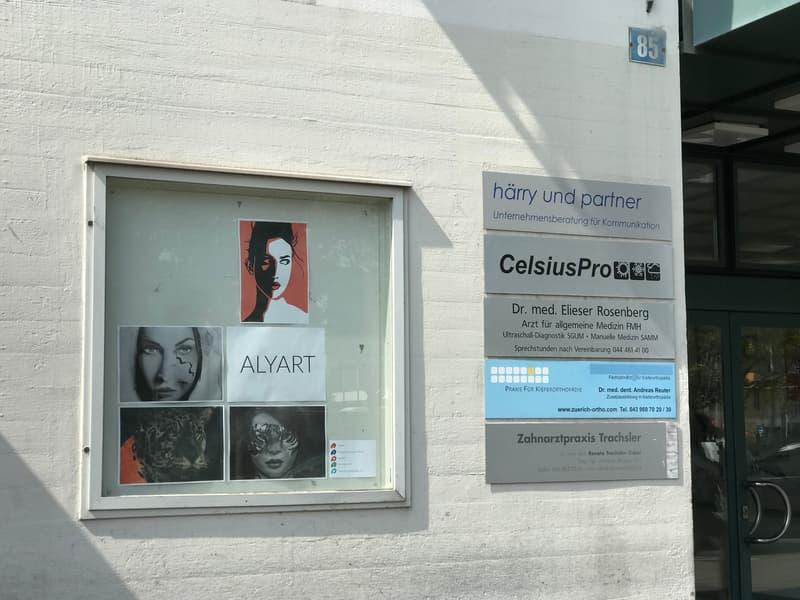 Ihre Werbung an Top-Lage in Zürich Wiedikon!