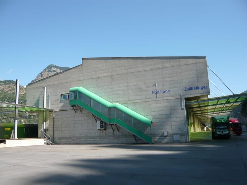 Brig Bahnhofareal Rhondesand
