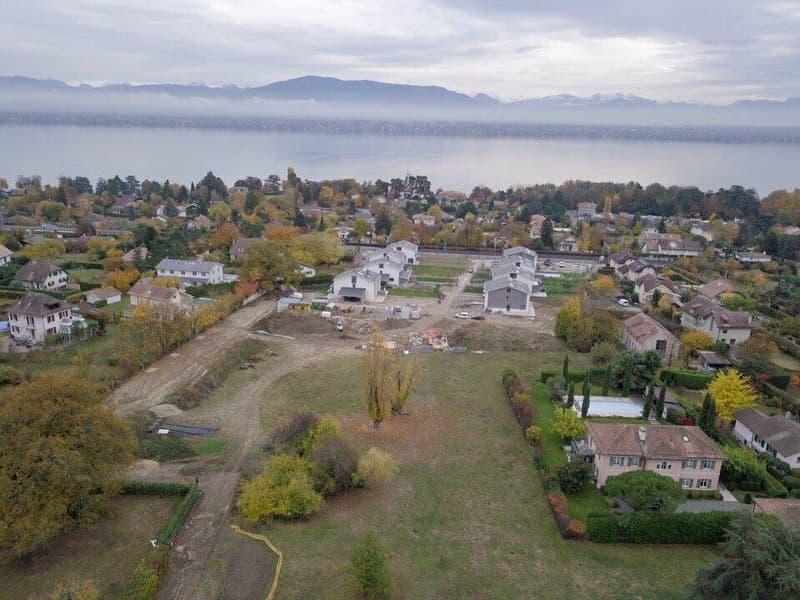 EN EXCLUSIVITE : Magnifique parcelle constructible avec vue sur le lac Léman et les Alpes