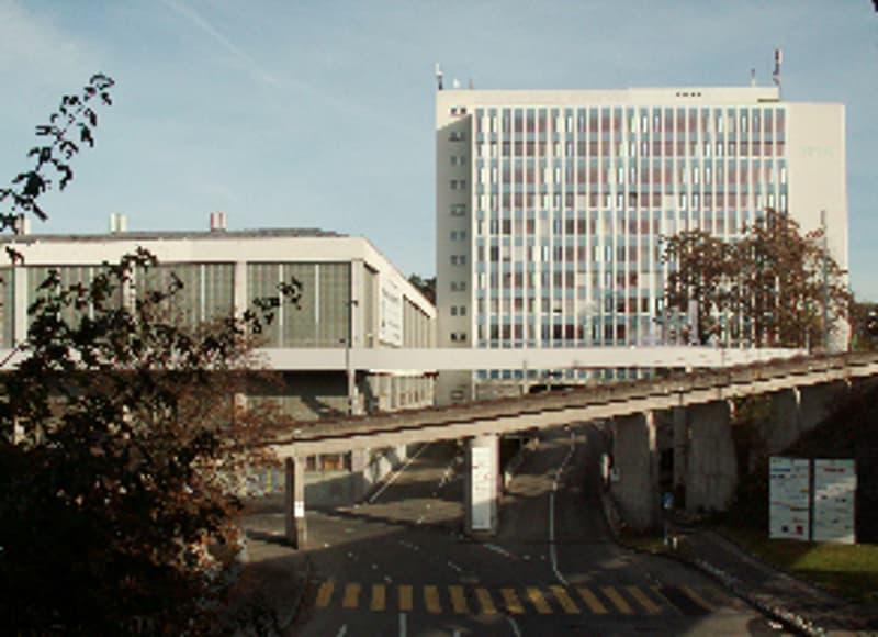 Grossraumbüro im Joweid Technologie Zentrum, Rüti