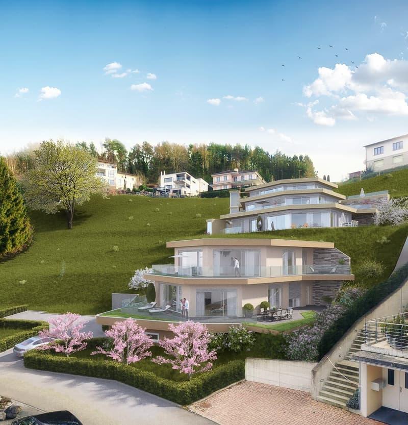 5 EFH am Hang in Berlingen mit Seesicht, Nutzfläche 173 m2