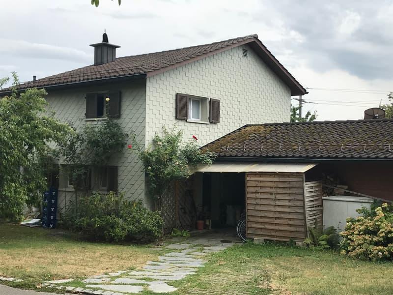 BEFRISTETES MIETVERHÄLTNIS! Einfamilienhaus an ruhiger und in ländlicher Wohnlage zu vermieten
