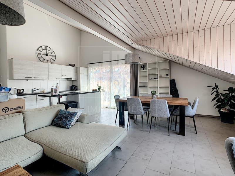 Magnifique appartement à Vufflens-la-Ville comme neuf avec balcon