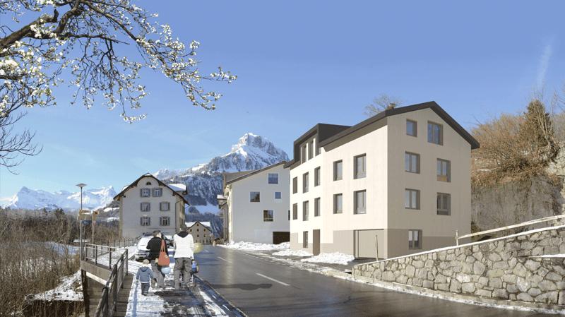 4.5-Zimmer-Neubau-Wohnung an zentraler und sonniger Lage