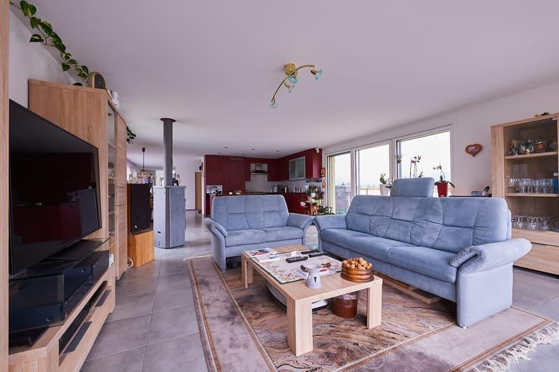 Wohnen wie im Einfamilienhaus, exclusive Attika Wohnung mit traumhafter Aussicht und Privatspäre