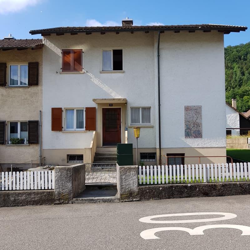 Angebautes, 2- Familienhaus in Trimbach