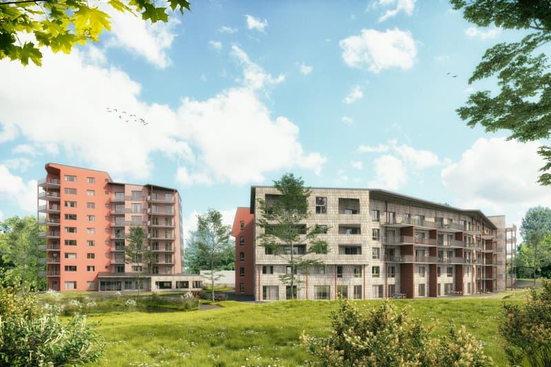 Neubau Gewerbe-/Bürofläche mit viel Publikumsverkehr in Liestal