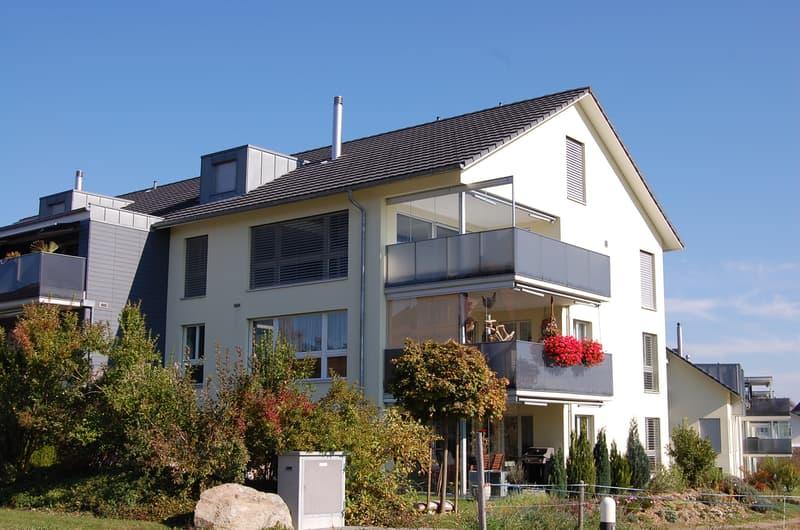 Maisonettewohnung mit grossem Balkon und Weitsicht