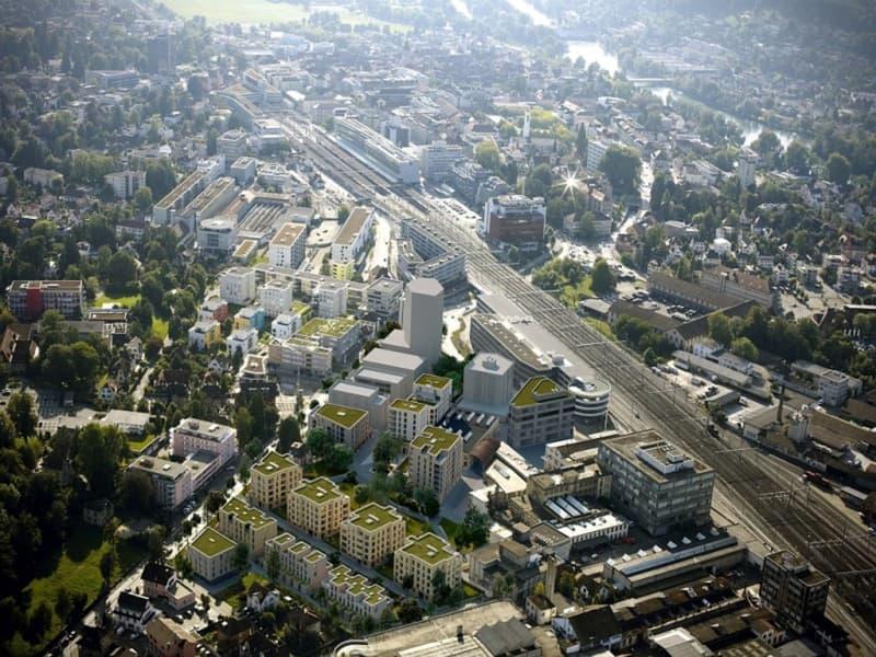Motorradplatz an zentraler Lage im Aeschbachquartier