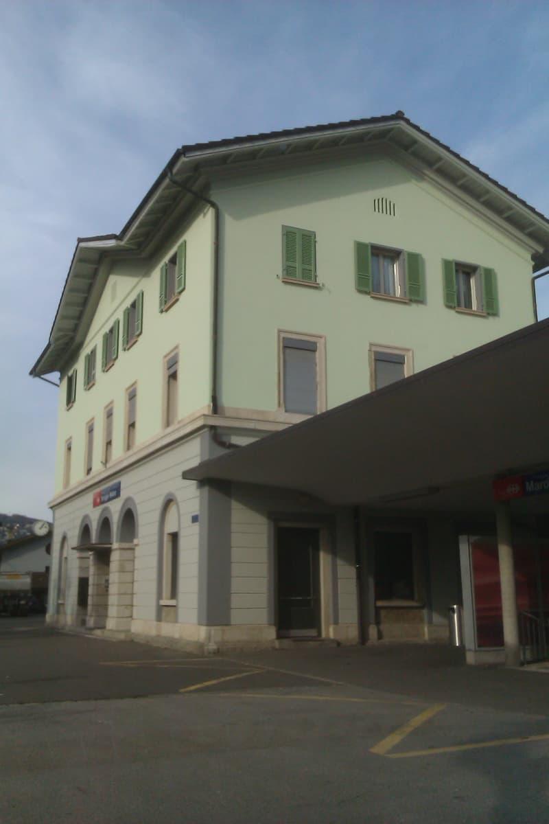 Appartamento 2.5 locali alla Stazione FFS di Maroggia-Melano