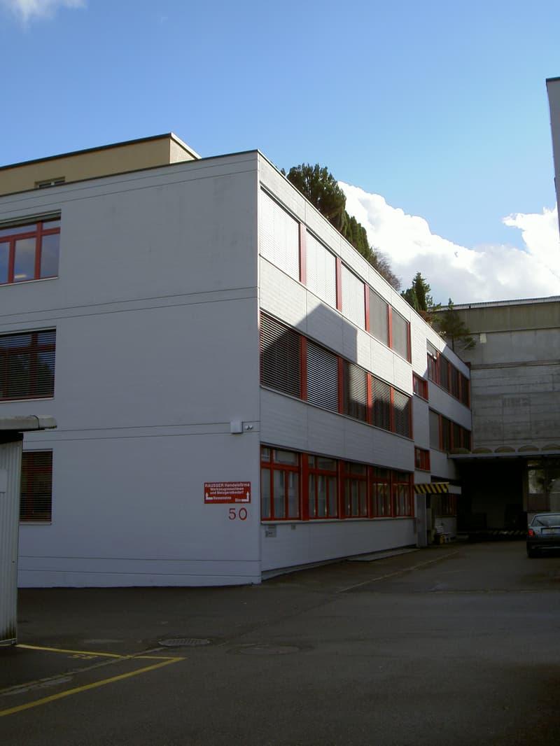 Gewerberäume 274 m2 im 1.OG für Büro, Fabrikation oder Lager