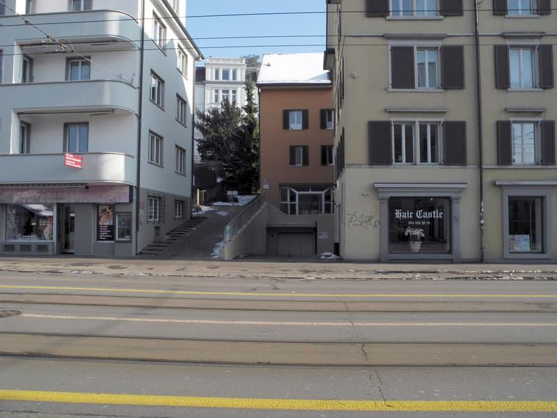 Tiefgaragenplätze beim Rigiplatz