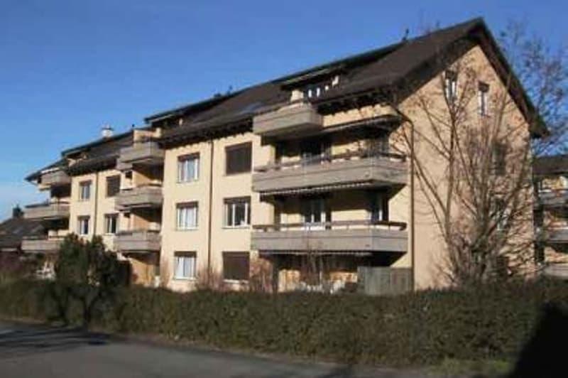 2 1/2-Zi.-Dach-Wohnung mit Cheminée + Balkon