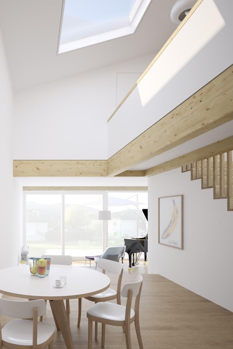 Un cadre de vie calme et verdoyant - Maison contiguë de 4.5 pièces