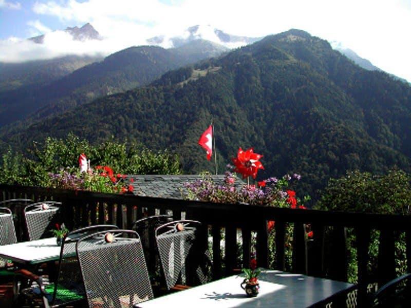 Hôtel-Restaurant  10 mn.- Villars S/ Ollon