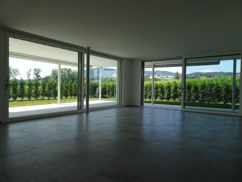 Luxuriöse riesige Wohnung mit unverbaubarer Sicht im steuerattraktiven Seengen am Hallwilersee (2)